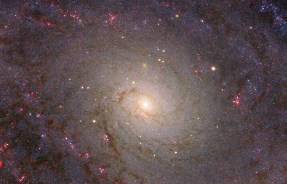 Una spirale maestosa per Hubble