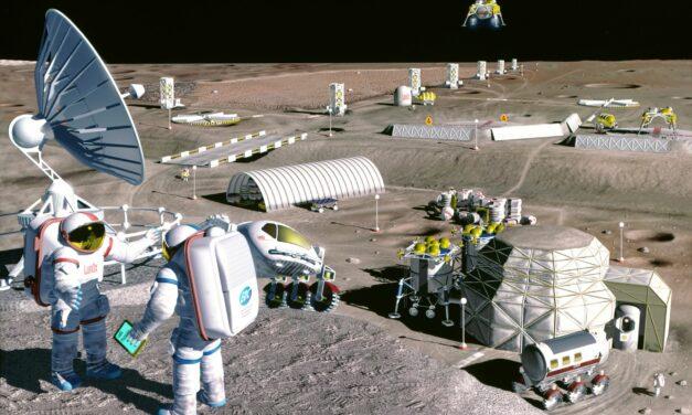 Costruire basi lunari: l'urea come possibile soluzione