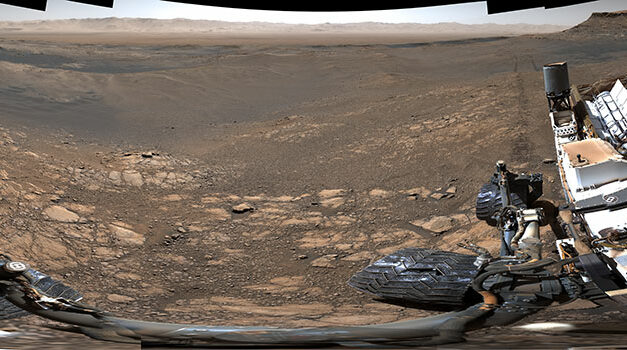 Curiosity, una vista senza precedenti
