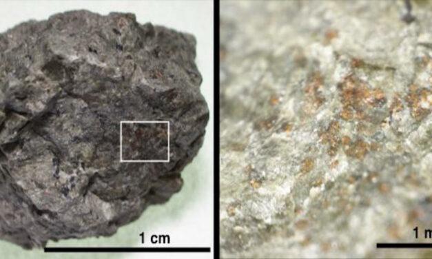 Meteorite marziano, la firma dell'antica abitabilità