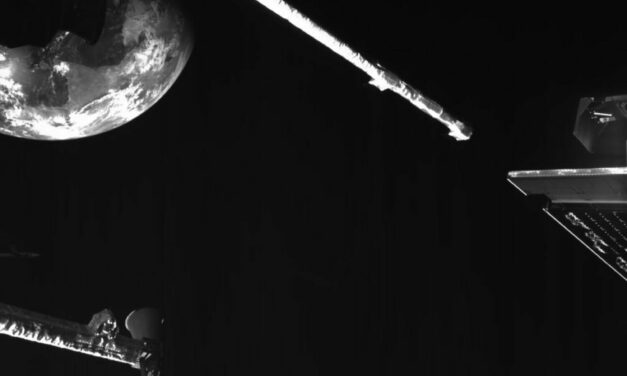 Selfie flybye sulla via di Mercurio