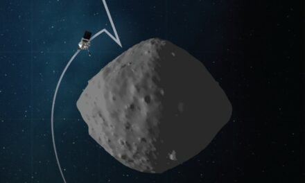 Il video del giorno replay: un asteroide in hd