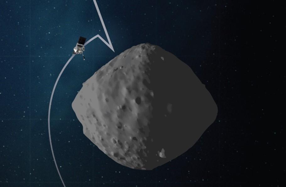 Osiris-Rex, a un passo dall'asteroide