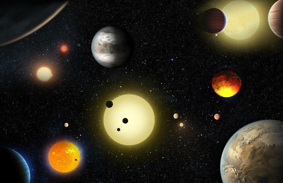Sei pianeti in armonia