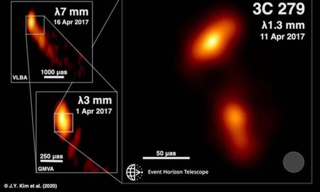 L'insolita coda del quasar
