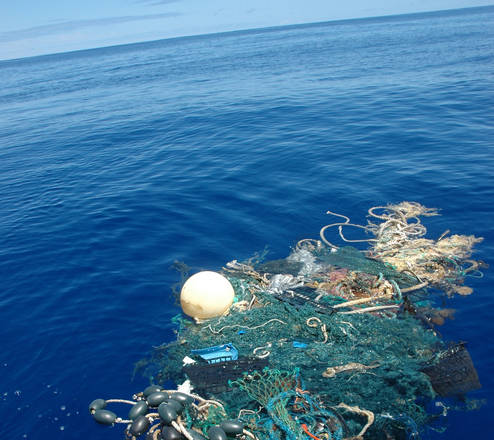 Plastica in mare nel mirino di Sentinel-2