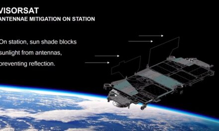 Satelliti antiriflesso per Musk