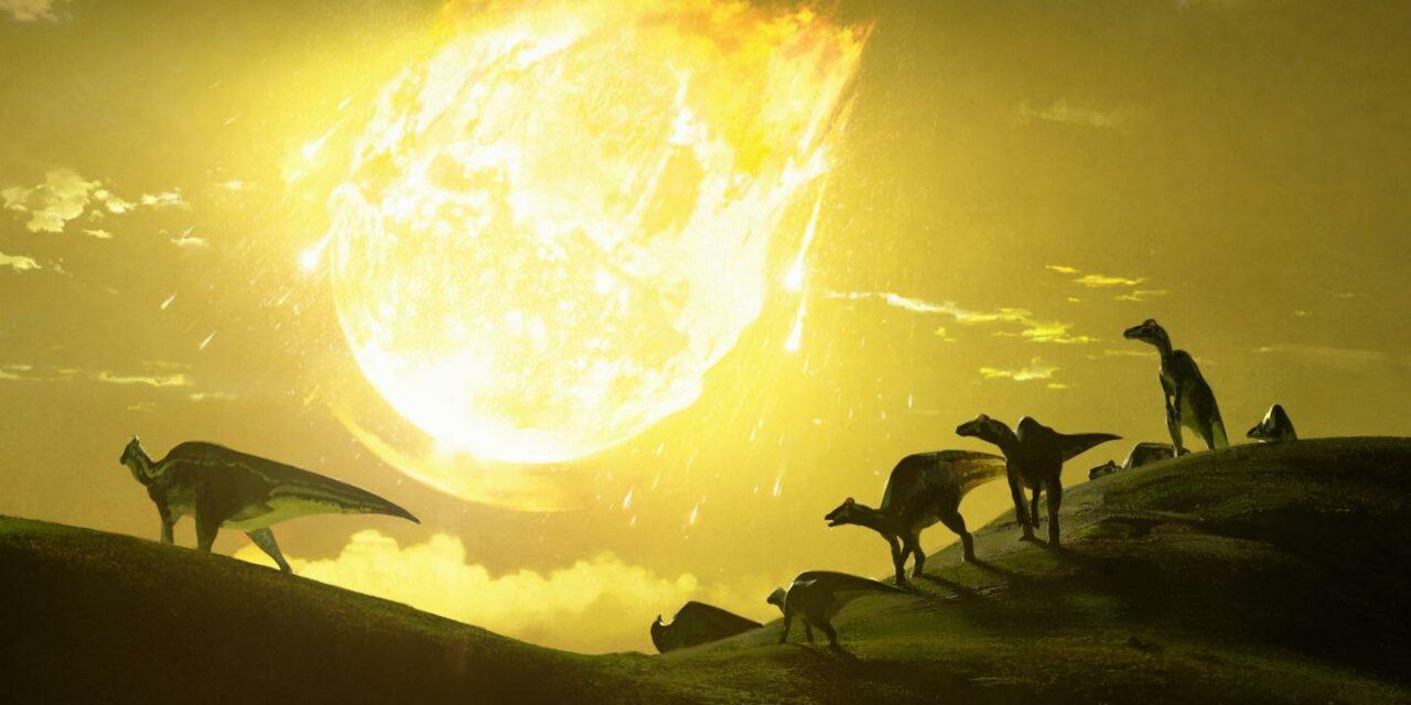 Estinzione dei dinosauri, una nuova teoria