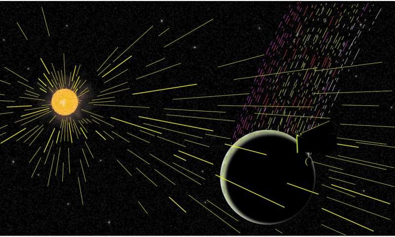La Luna emette più carbonio di quanto dovrebbe