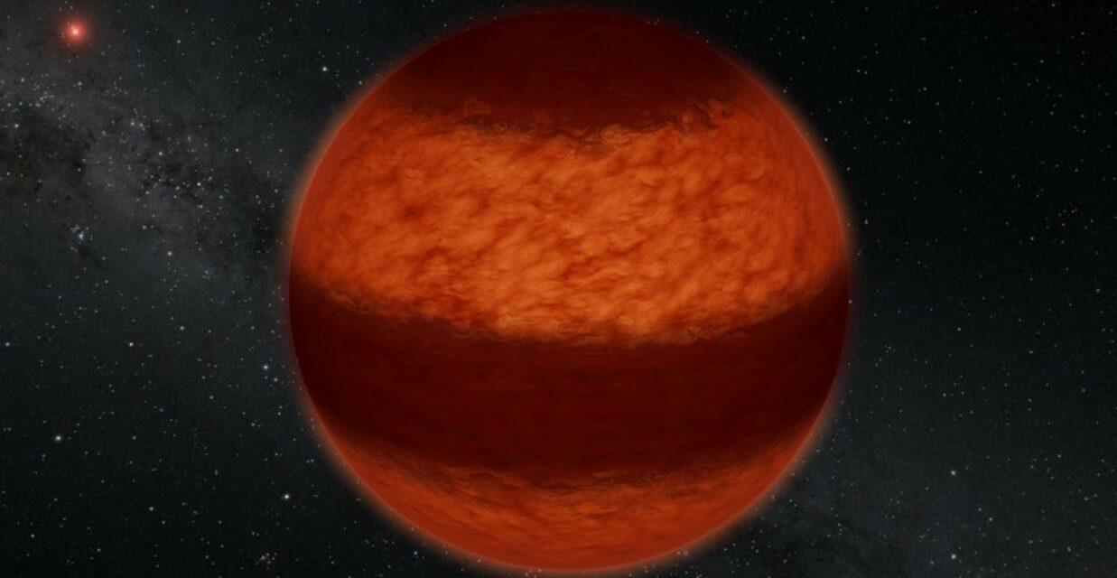 'Meteo' perturbato sulla nana bruna
