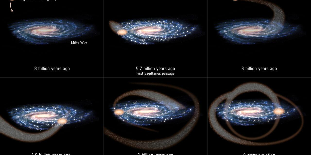 Un 'tamponamento' alla base del Sistema Solare