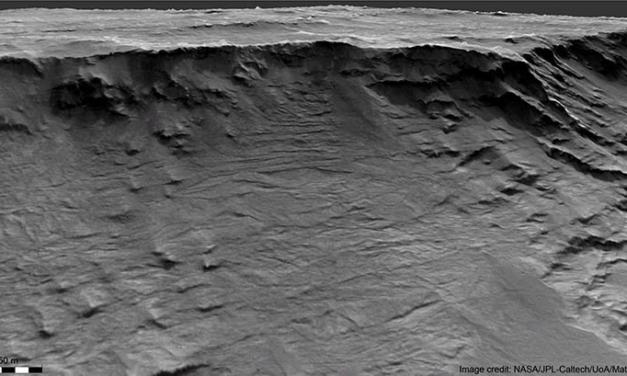 Su Marte, un fiume antico grande come il Po