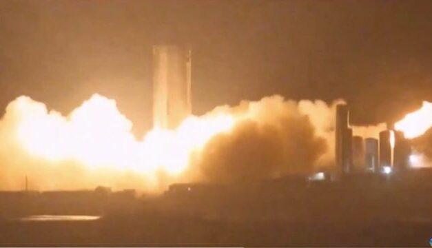 Rombo di motore per SN4, il nuovo prototipo di SpaceX