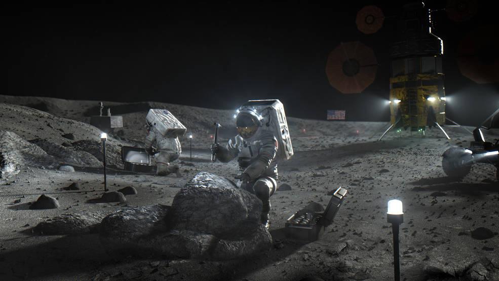 Lander lunari: sfida aperta tra SpaceX, Blue Origin e Dynetics