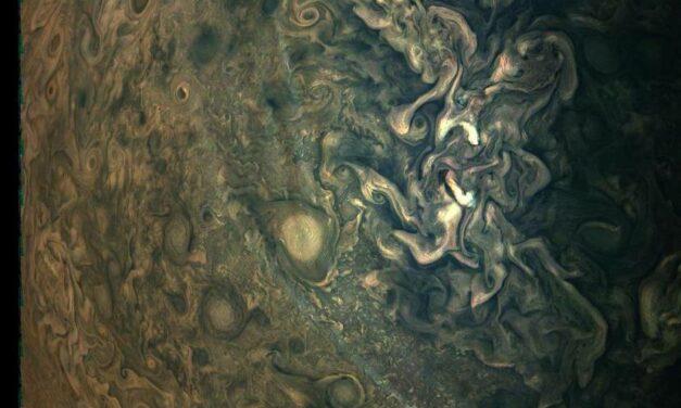 Juno e la foschia di Giove