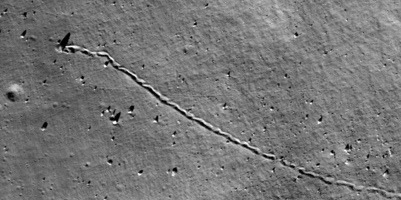 Caduta massi lunari, ecco la prima mappa