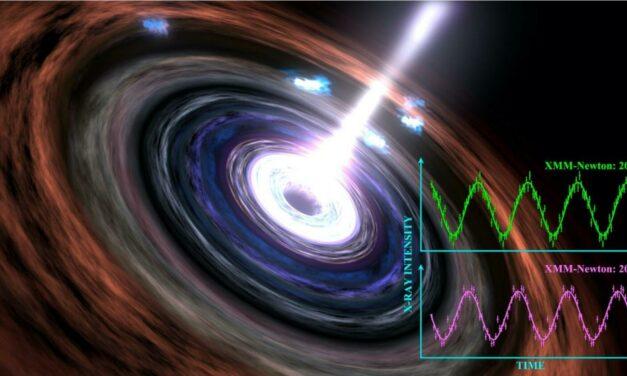 Il persistente battito di un buco nero