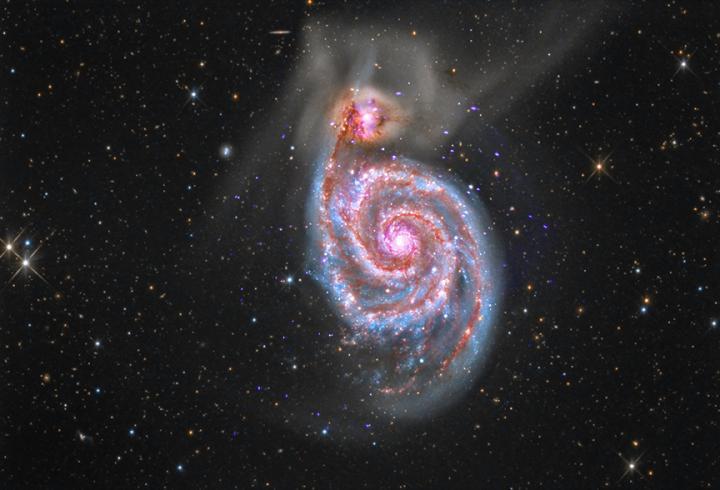 Nell'alba delle galassie i presupposti della vita