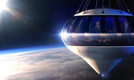 Turisti spaziali nella stratosfera