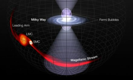 Via Lattea, l'antico 'flash' del buco nero