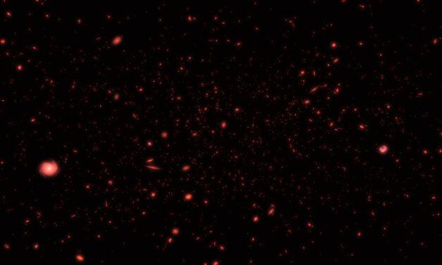 Hubble scruta l'Universo primordiale