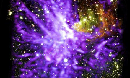 Danza cosmica per Alma e Hubble