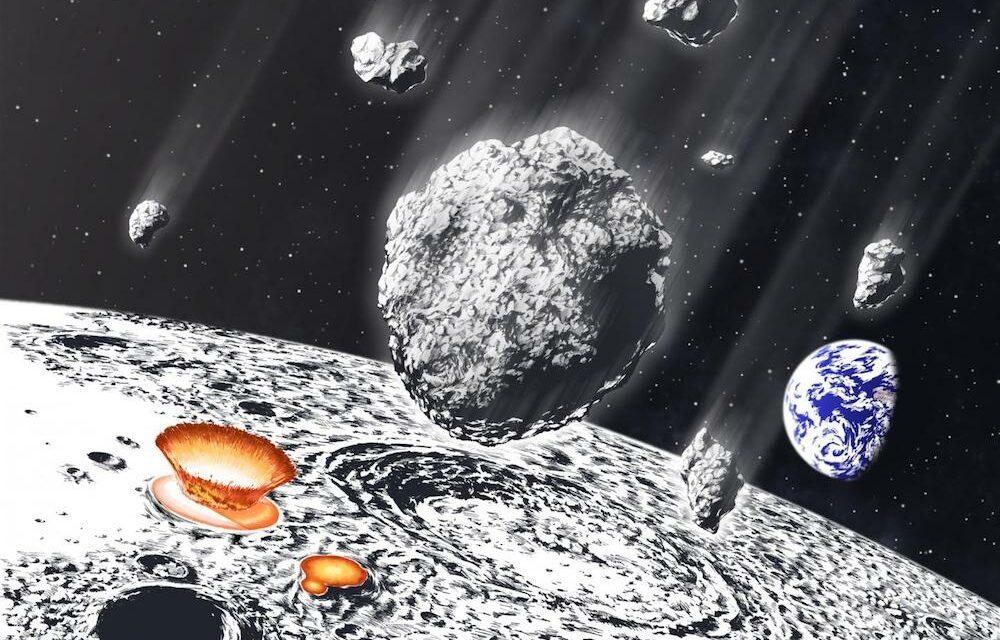 Un'antica pioggia di asteroidi colpì Terra e Luna