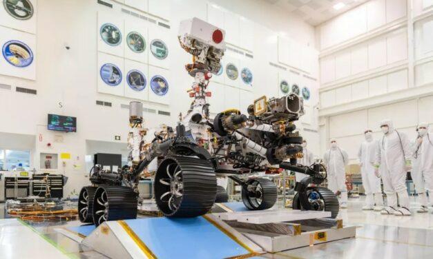 Perseverance, il rover marziano con 'udito' completa un nuovo test