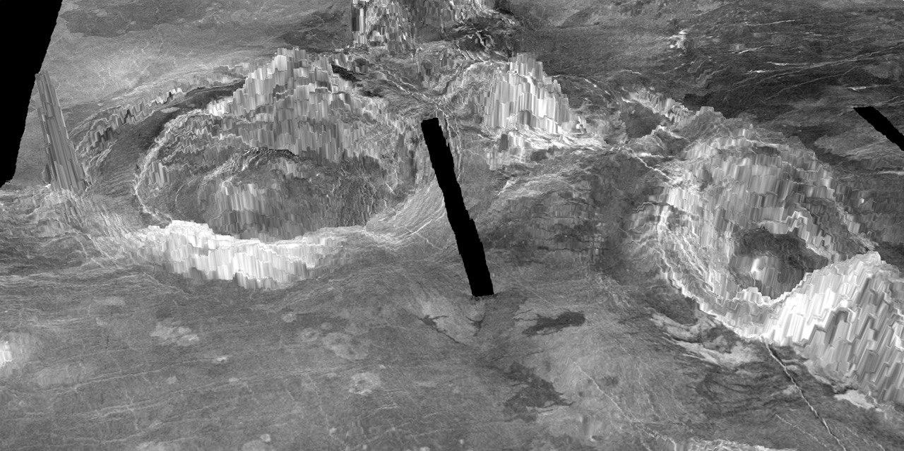 Venere: indentificati 37 vulcani attivi