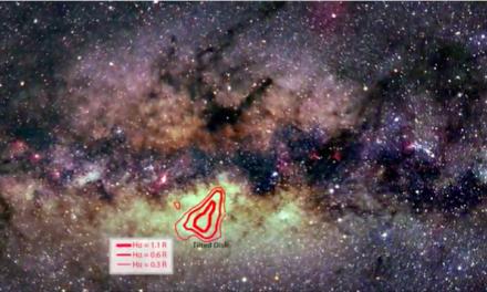 L'energia che vibra al centro della Via Lattea