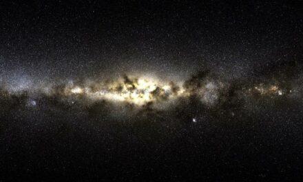 Un gruppo di 'intruse' nella Via Lattea