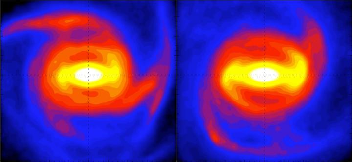 Una danza cosmica spiega il paradosso delle barra galattica