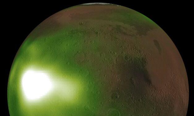 'Batticuori' notturni nel cielo di Marte