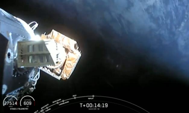 SpaceX raggiunge l'orbita polare