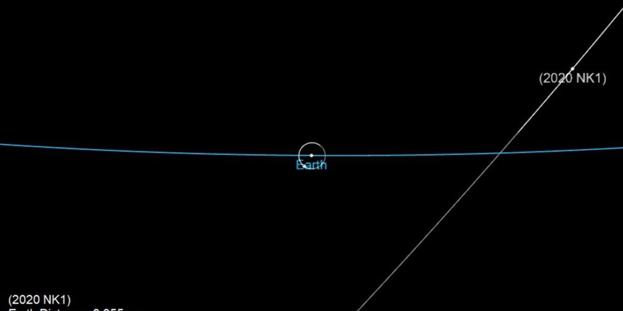 L'asteroide 2020 NK1 sotto sorveglianza di Arecibo