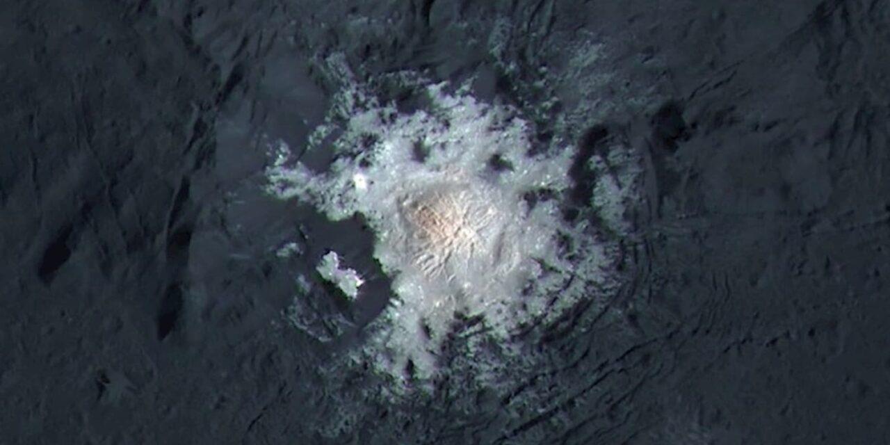 Cerere: una riserva di acqua liquida grazie al sale