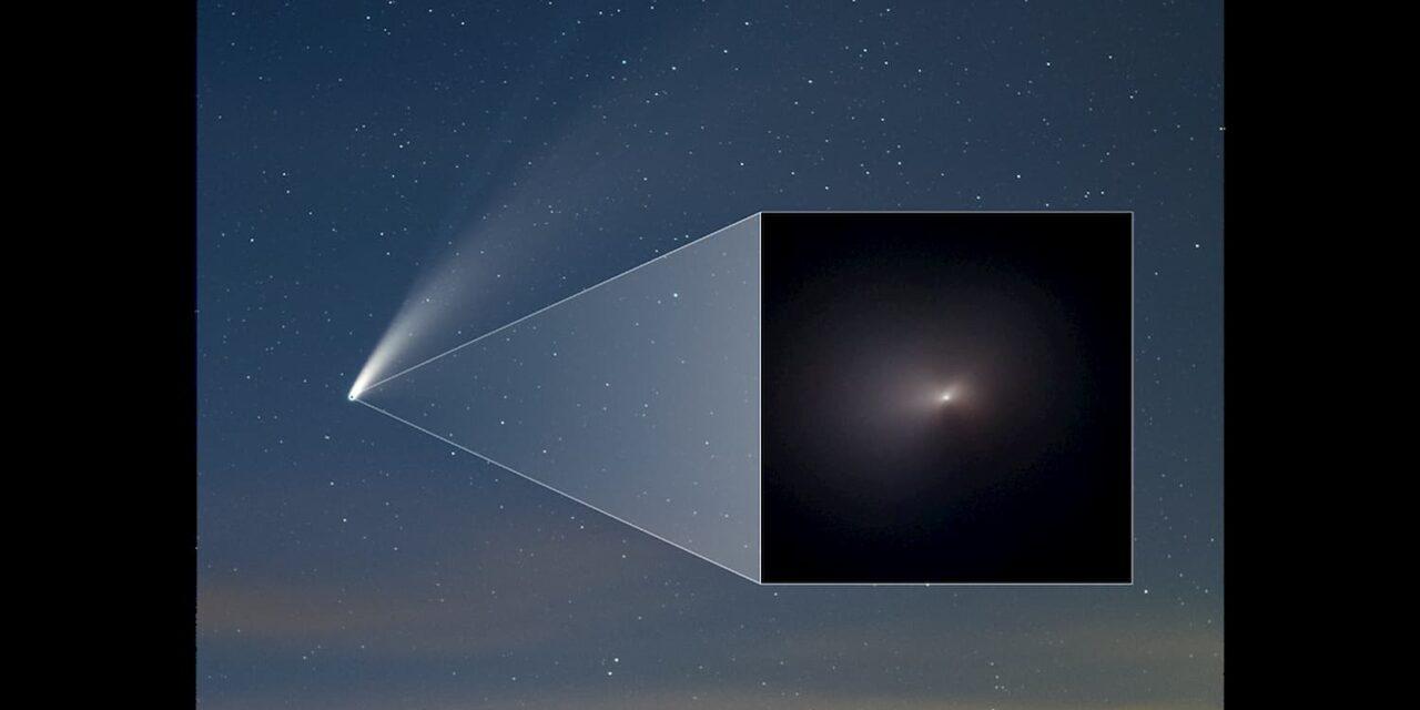 La prima volta di Hubble con Neowise