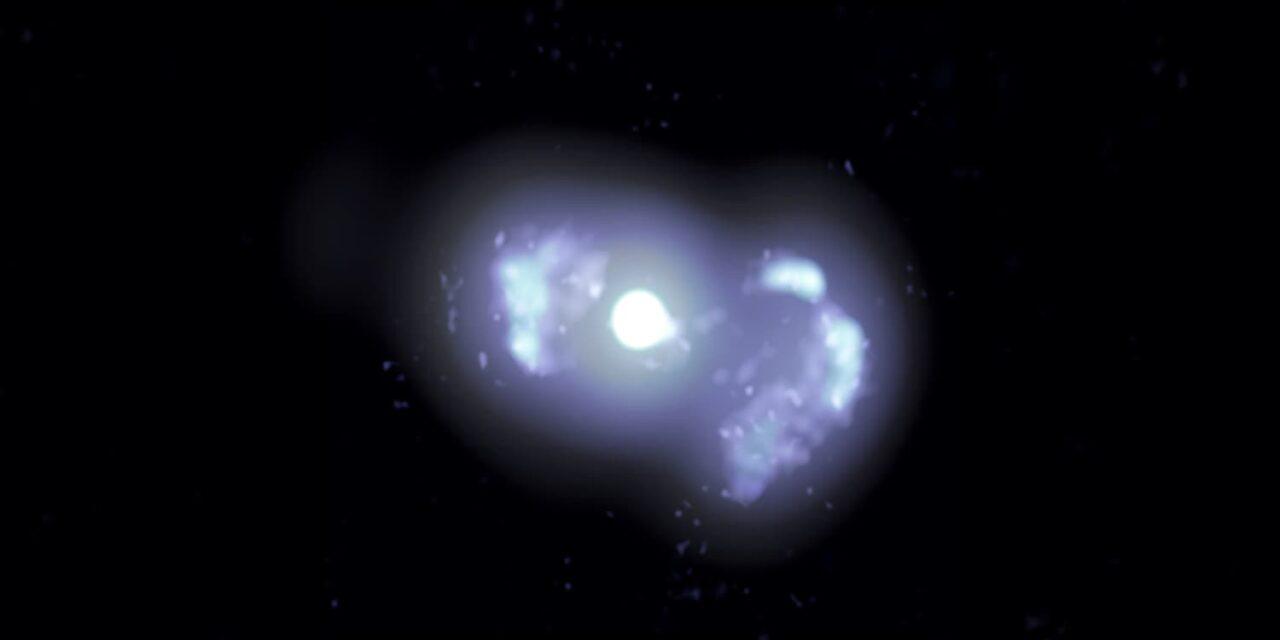 I giovanissimi getti della galassia