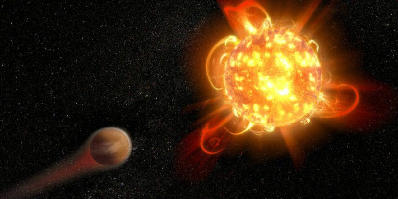 La doppia faccia della nana rossa Gliese 887