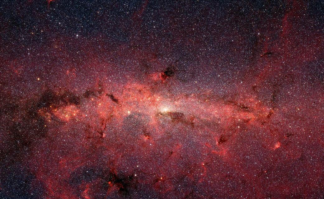Misteriosi proiettili di gas freddo dal centro della Via Lattea