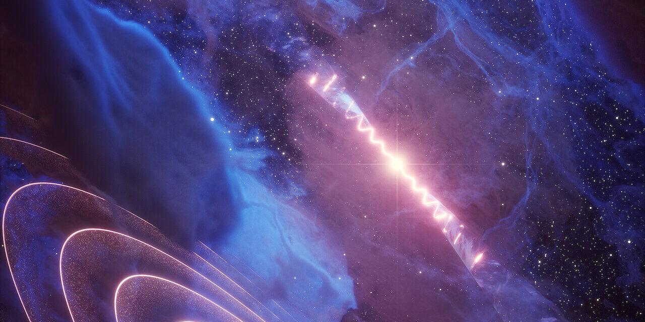 Una misteriosa pulsazione di raggi gamma