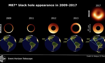 Così trema il buco nero di M87