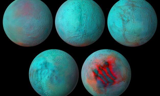 Nuovo sguardo tra i graffi di Encelado