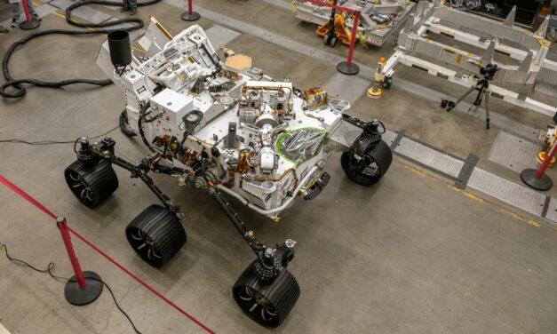 Marte, il rover Perseverance ha un 'gemello' terrestre