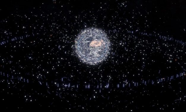 Spazzatura cosmica nascosta