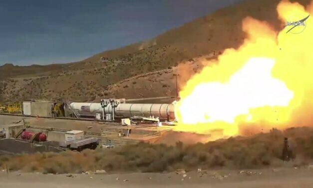 Missione Artemis: test superato per il booster dello Space launch system