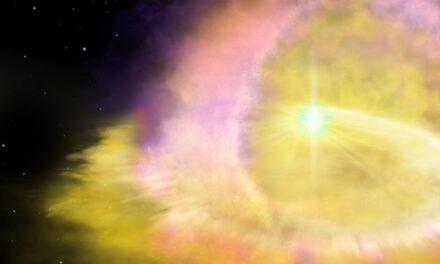 L'esplosione di una supernova mai vista prima