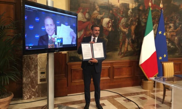 Programma lunare Artemis, firmata dichiarazione d'intenti Italia – Stati Uniti