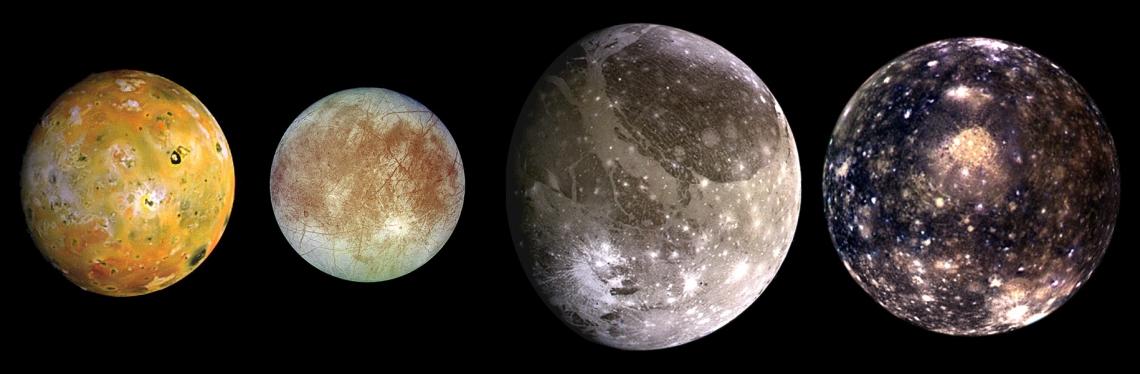 Le lune galileiane si influenzano tra loro