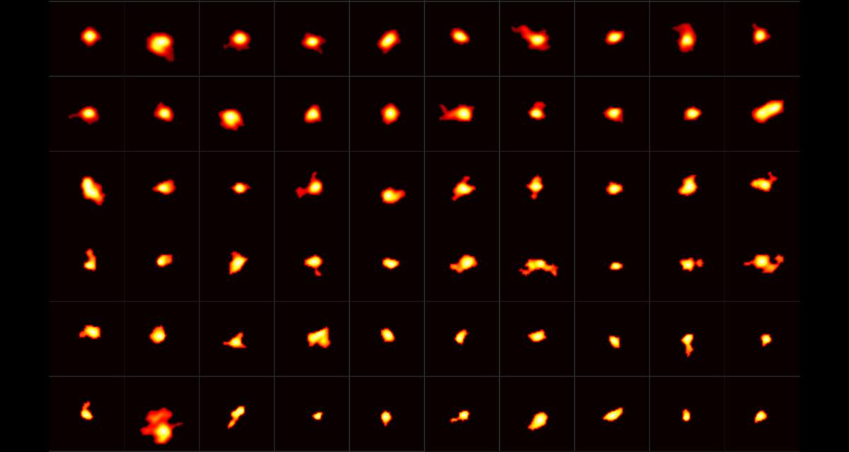Galassie mature nell'Universo primordiale